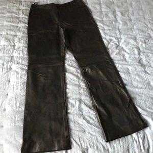 St. John leather pants